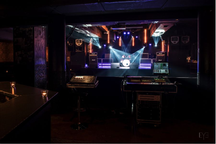 Bus Palladium Salle de concert Club