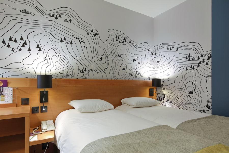 Mercure Grenoble Centre Alpotel **** Chambre twin standard