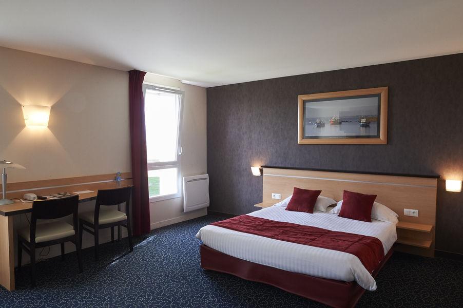 Brit Hotel Cap Ouest Chambre