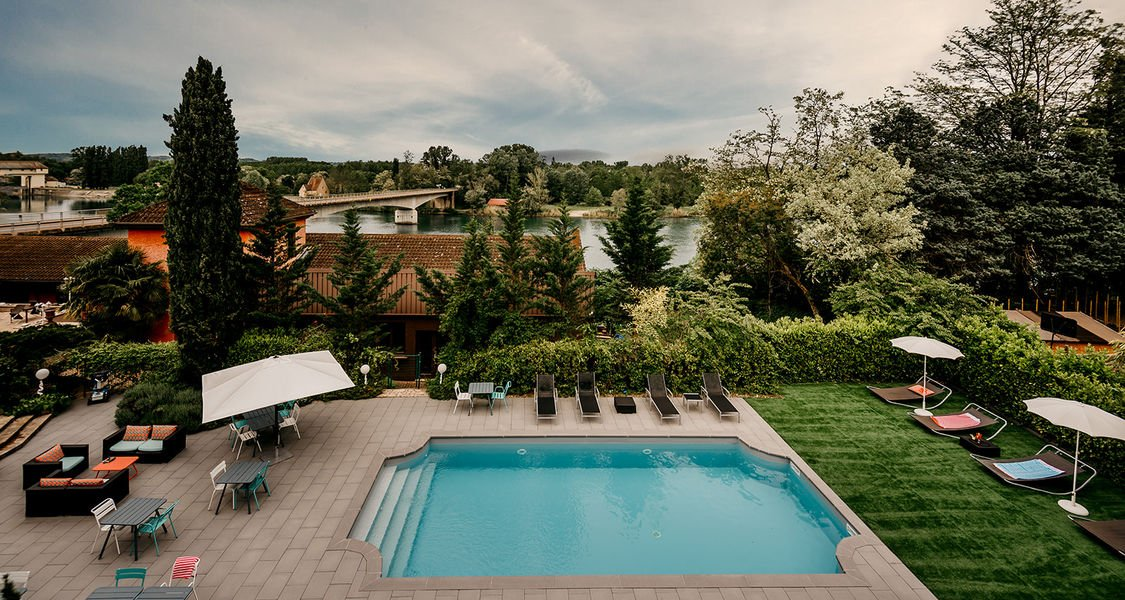 Best Western Bridge Hotel Lyon East *** Espace piscine