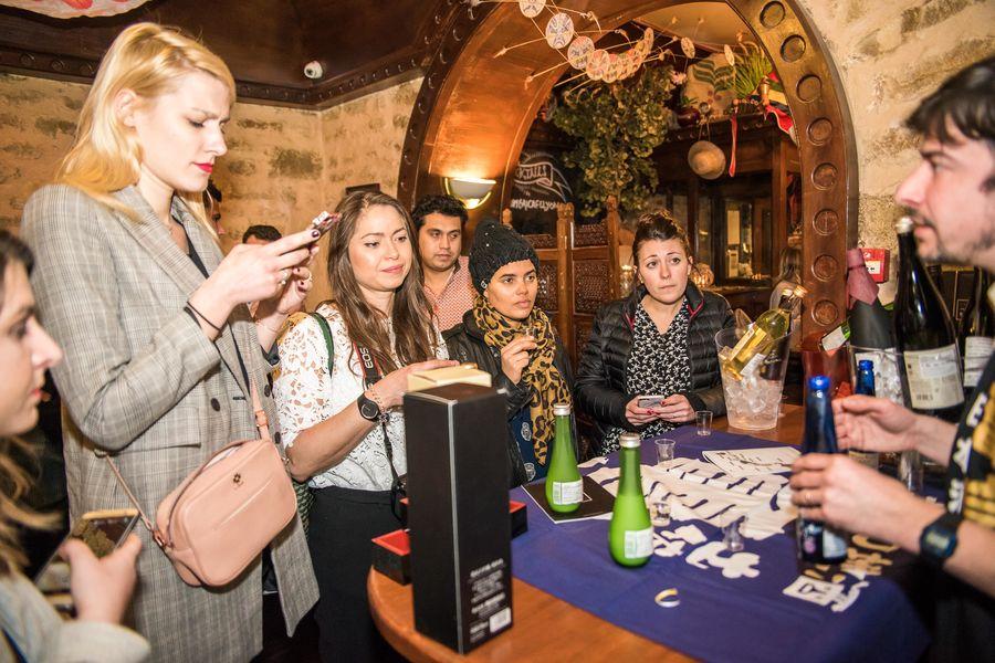 Mumbai Cafe ateliers degustations de saké