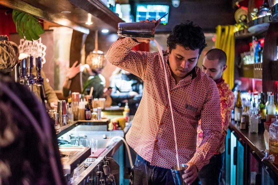 Mumbai Cafe cours de cocktails
