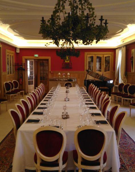 Hôtel et Spa Le Lion d'Or *** Repas d'affaire: salle Prestige