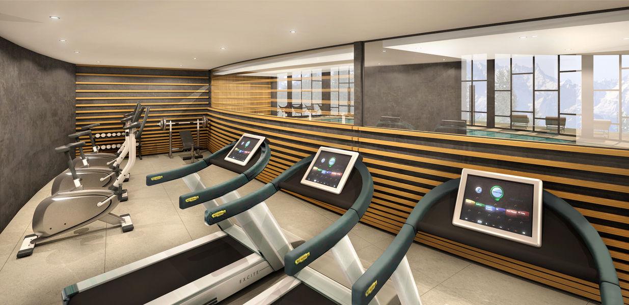 Mercure Les Arcs 1800 **** Salle de fitness