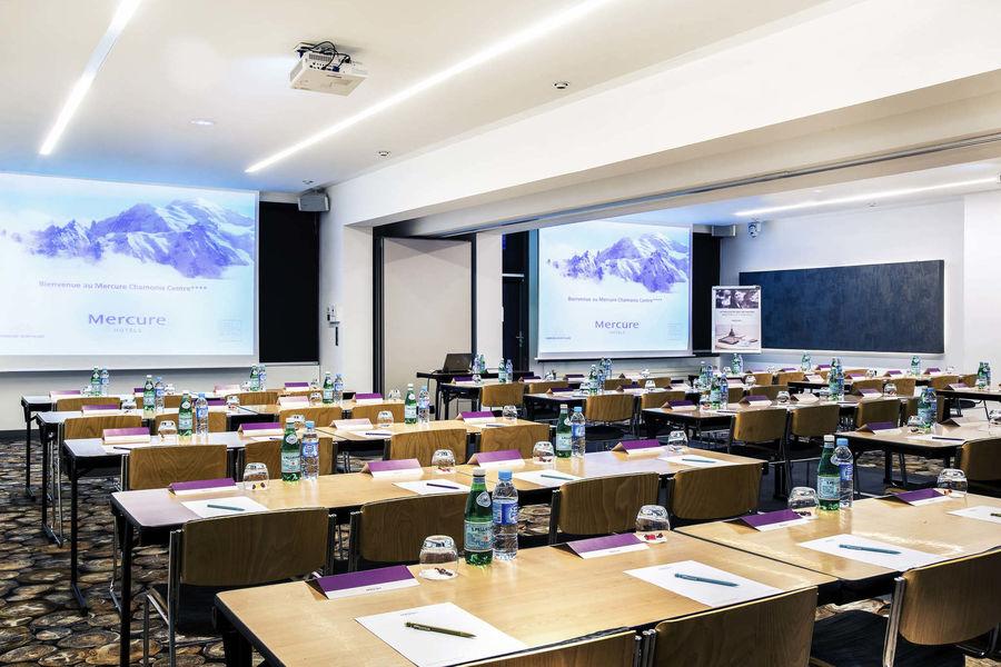 Mercure Chamonix Centre **** Salle Mont Blanc