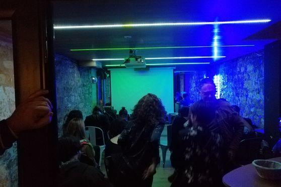 Salle de danse ou spectacle