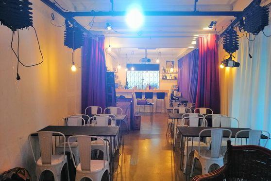 Salle de réception et bar