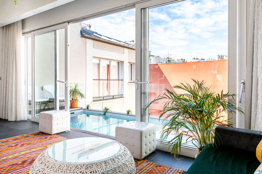 1K Hotel **** Suite Piscine - niveau 1