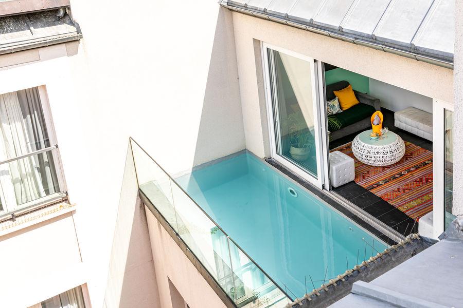 1K Hotel **** La piscine privée