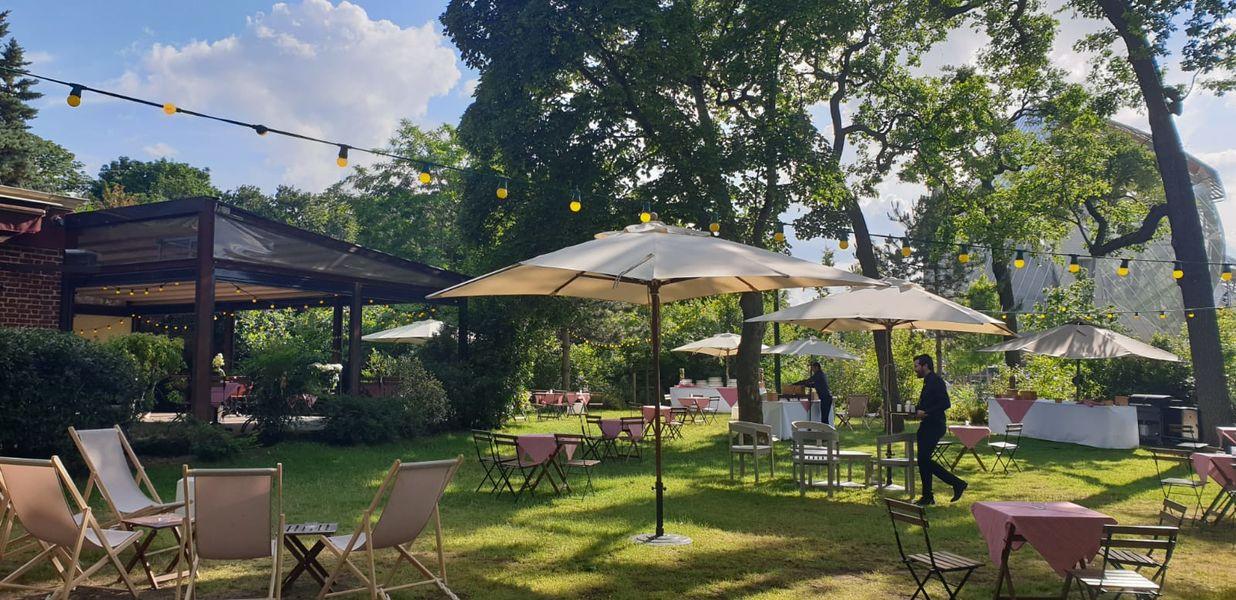 La Terrasse du Jardin Set Up Guinguette