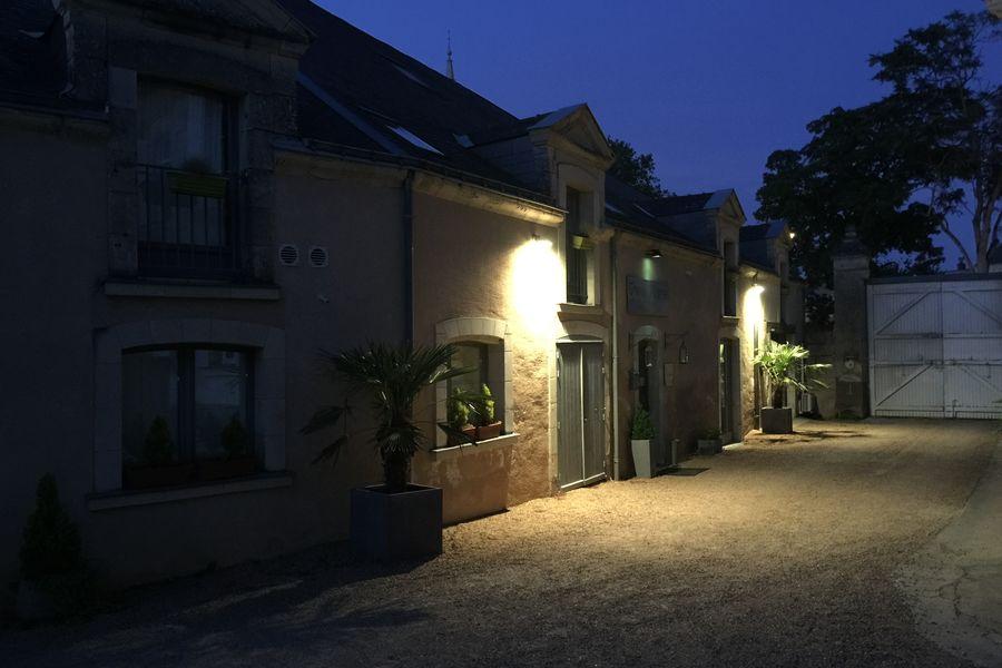 Chai de La Paleine Façade Hôtel