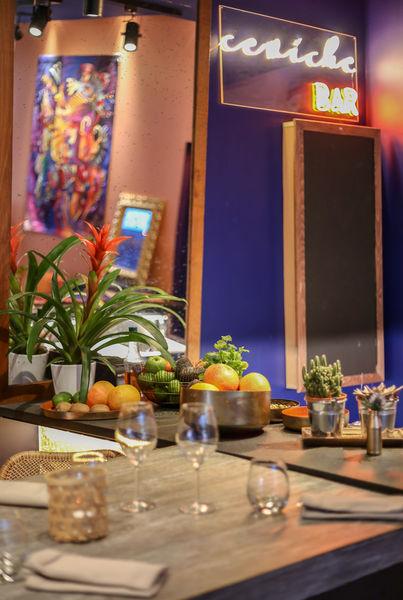 1K Hotel **** Inka - ceviche bar