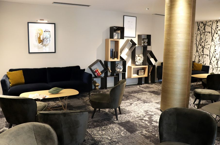 Mercure Pau Palais des Sports **** Bibliotheque-Salon Lounge