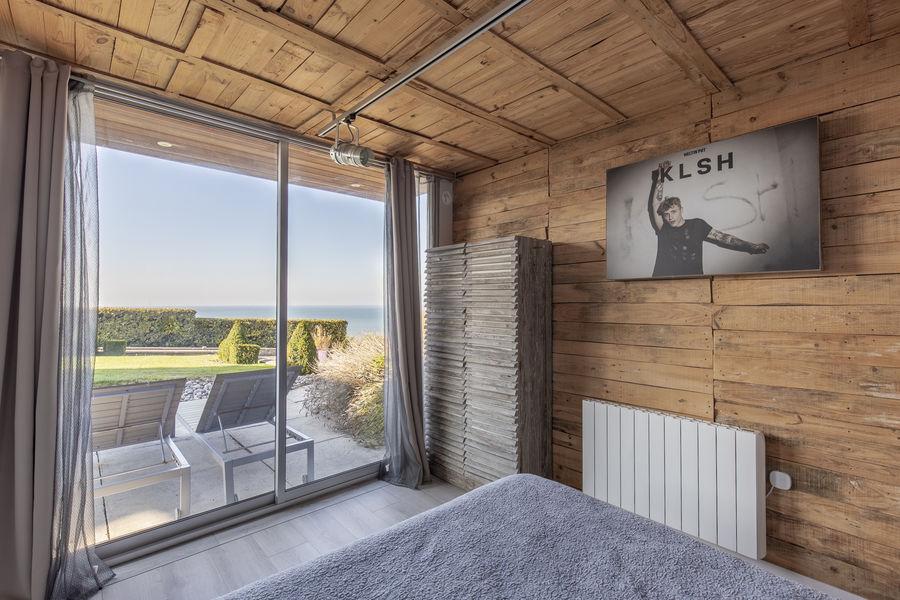 Les Chambres d'Annie Chambre cottage vue mer avec salel d'eau