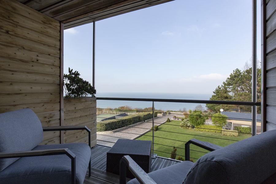 Les Chambres d'Annie Vue mer du balcon
