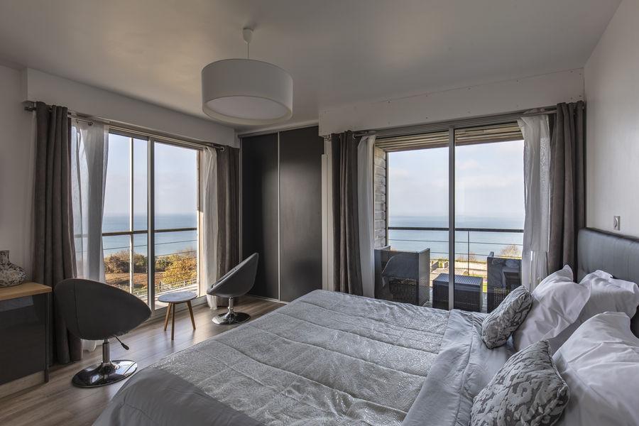 Les Chambres d'Annie Chambre avec balcon vue mer