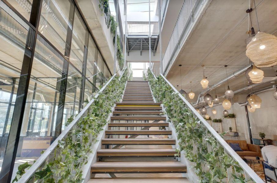 Deskeo La Chapelle Escalier