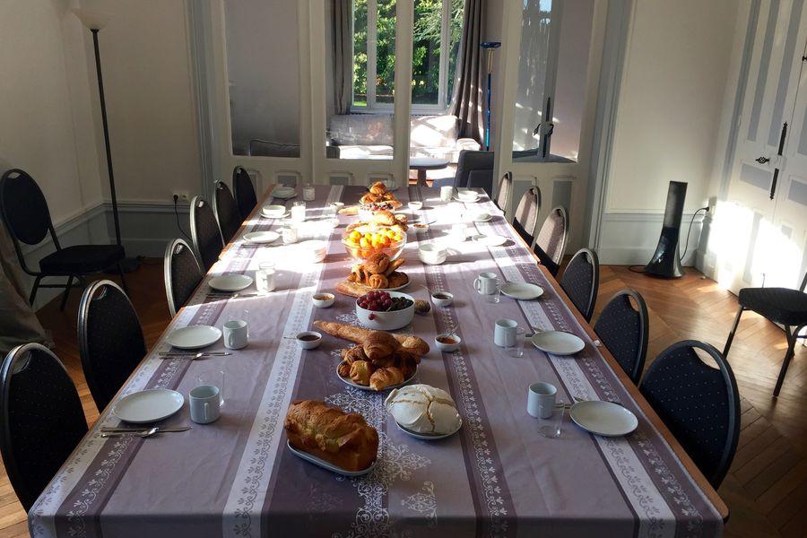 Domaine du Gîte Les Racines Petit-déjeuner réunion
