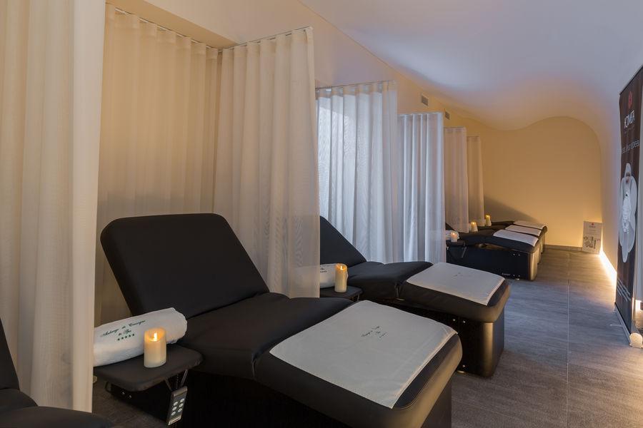 Auberge de Cassagne & Spa ***** Salle de détente au spa