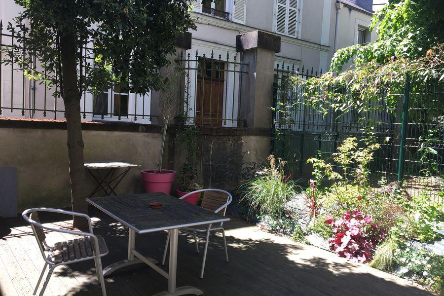 Salons 8ème Sens - Angers Béclard Terrasse rez-de-chaussée