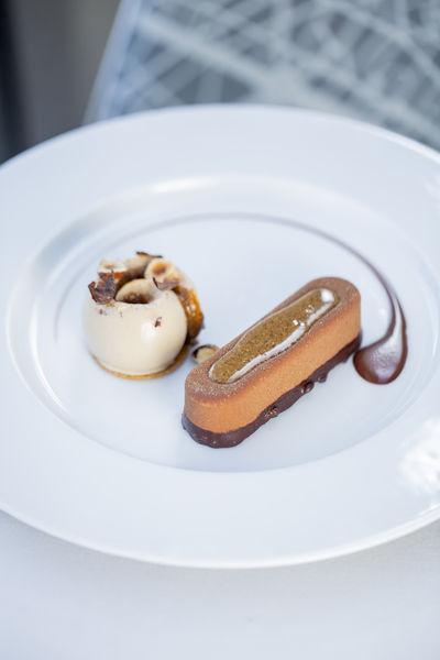 Ducasse sur Seine Paris tout Chocolat au Croustillant de Pralin