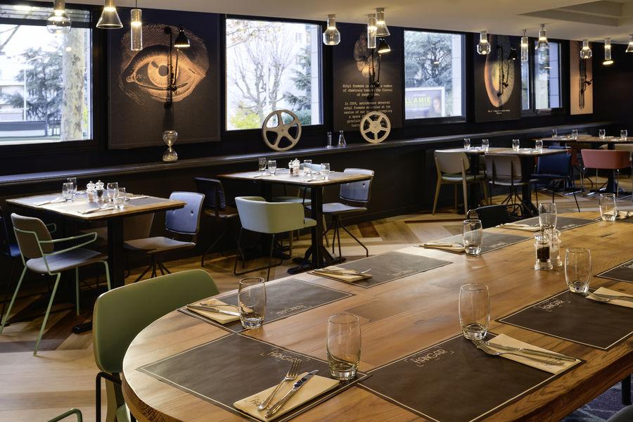 Mercure Lyon Centre Lumière **** Restaurant Le Hangar- 1er étage (vue 3 )