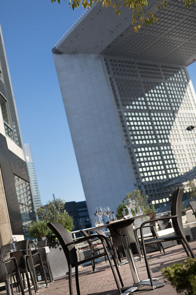 Renaissance Paris La Défense **** Vue de la terrasse