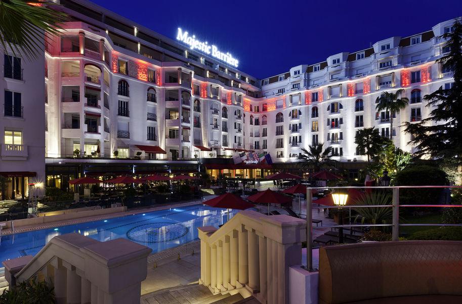 Hôtel Barrière Le Majestic Cannes Hotel Barrière Le Majestic Cannes