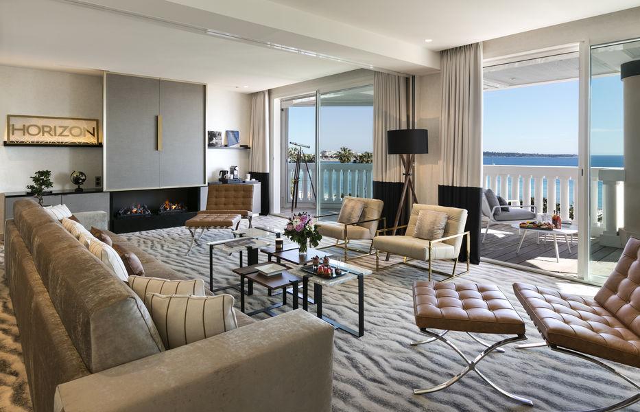 Hôtel Barrière Le Majestic Cannes Suite