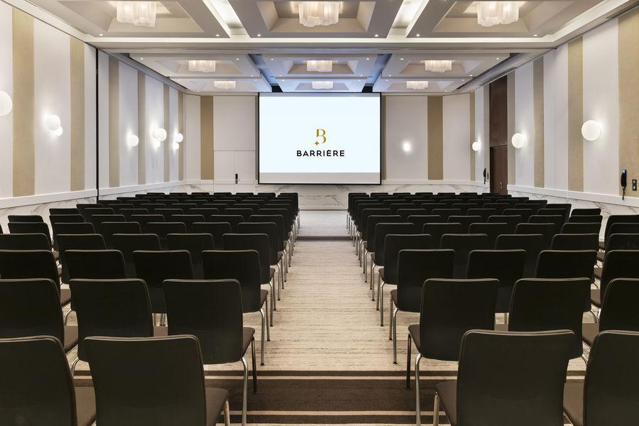 Hôtel Barrière Le Majestic Cannes Salle de séminaire