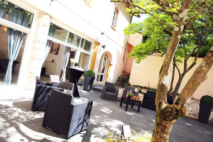 Espace de l'Ouest Lyonnais Jardin intérieur