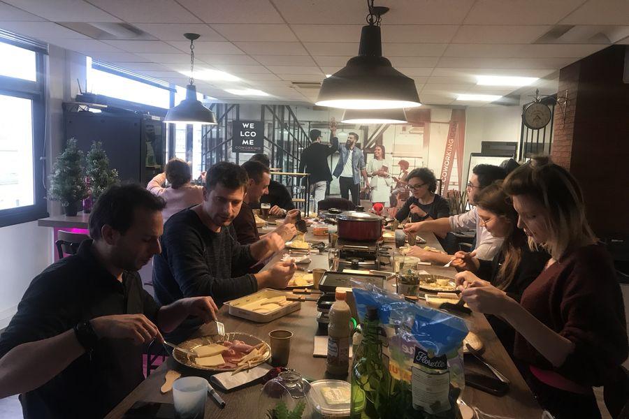 Welcome! Coworking Repas de Noel
