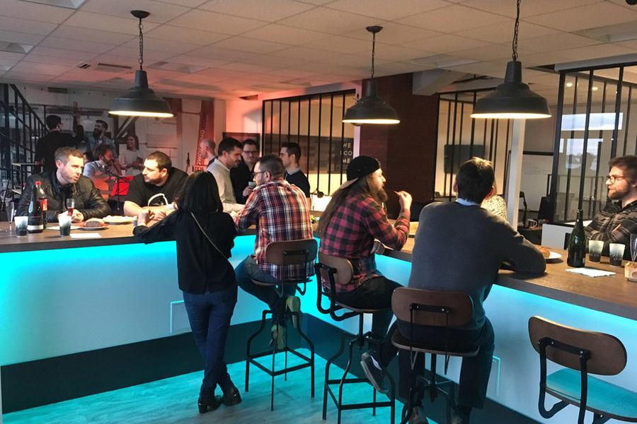 Welcome! Coworking Espace de réception