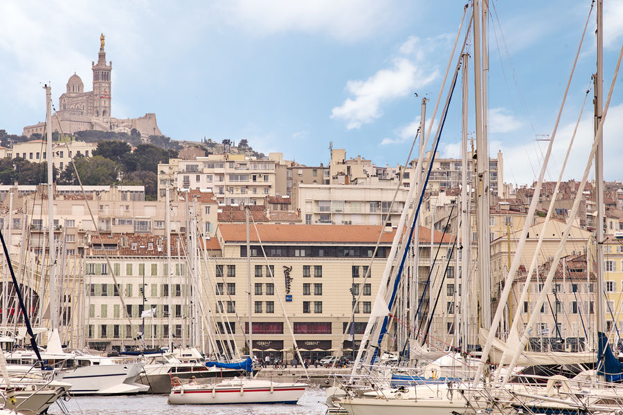 Radisson Blu Hôtel Marseille Vieux Port **** Vue extérieure de l'hôtel