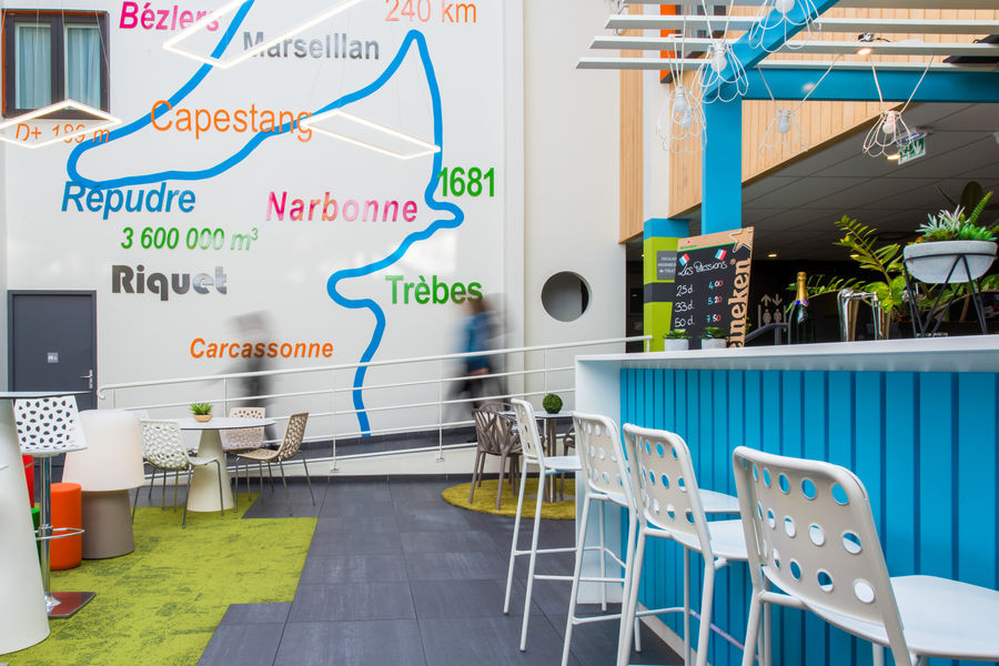 Ibis Styles Toulouse Labege *** Patio / Pauses