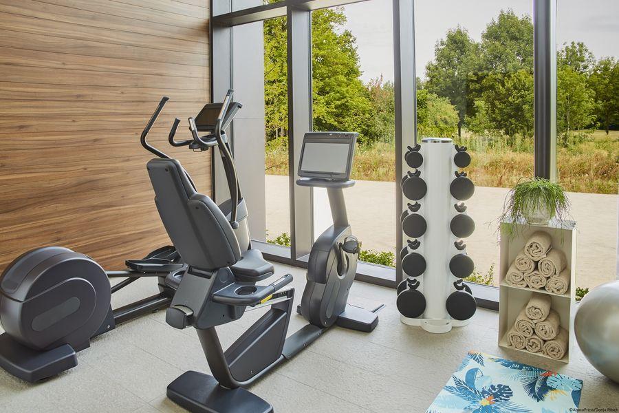 Le Domaine des Vanneaux Hôtel Golf & Spa MGallery Salle de fitness