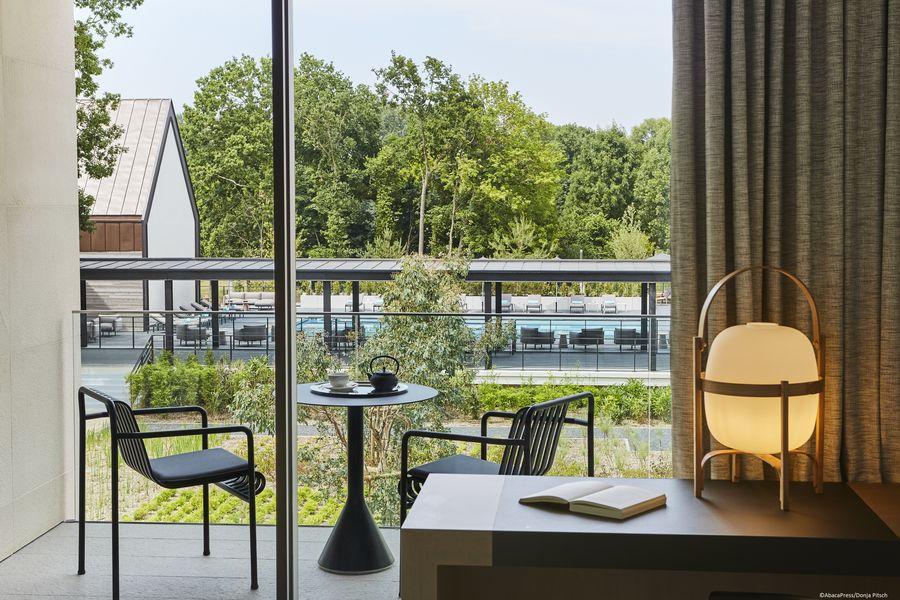 Le Domaine des Vanneaux Hôtel Golf & Spa MGallery Chambre avec vue sur le patio