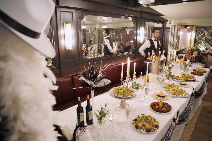 La Mère Catherine Soirée Gatsby en format cocktail