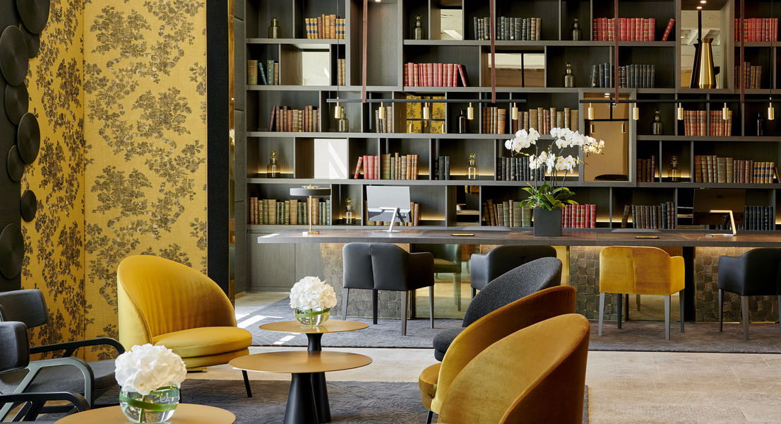 Intercontinental Lyon - Hotel Dieu  Reception