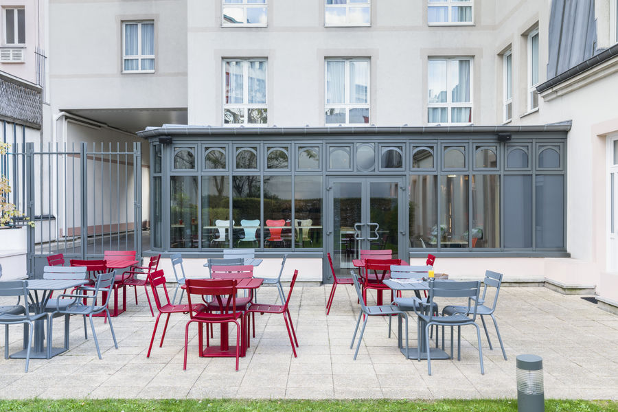 Ibis Gare de Lyon Ledru Rollin *** Terrasse