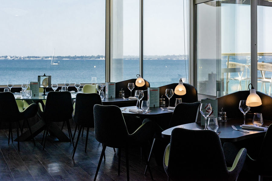 Les Sables Blancs **** Salle de restaurant