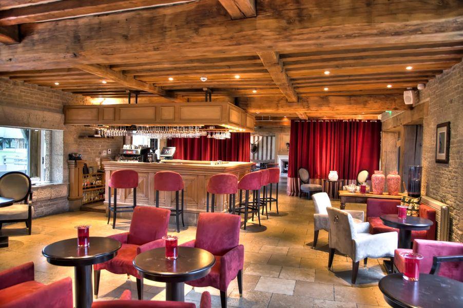 Les Manoirs de Tourgeville **** Espace Bar lounge