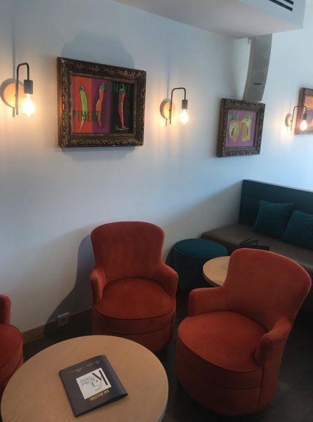 Restaurant K5byPaul Espace salon Brasserie