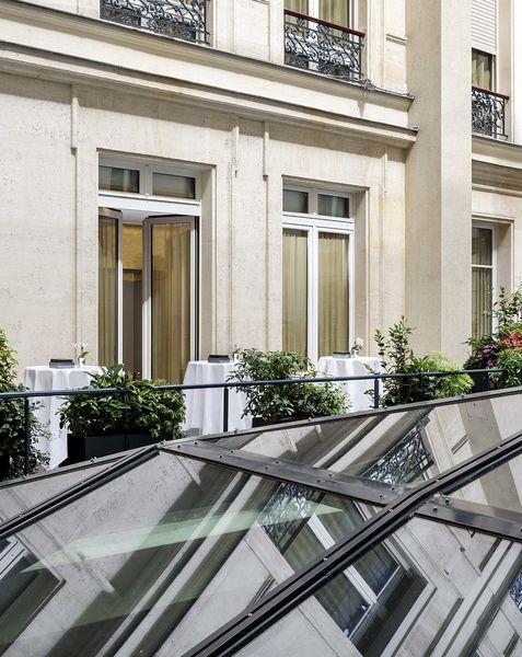 Park Hyatt Paris-Vendôme ***** Paris - terrasse