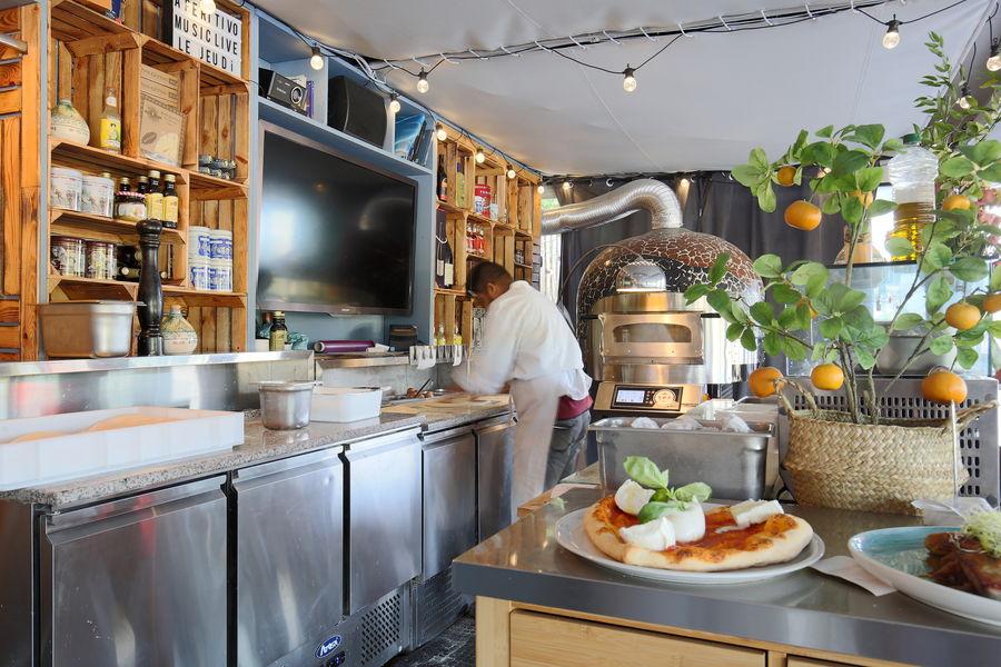 Aqua Restaurant Four à pizza de l'Aqua Restaurant