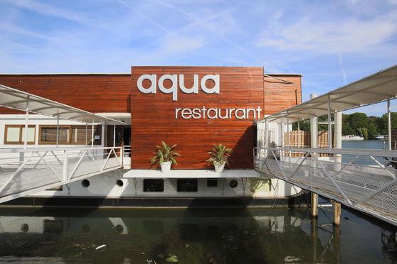 Façade de l'Aqua Restaurant