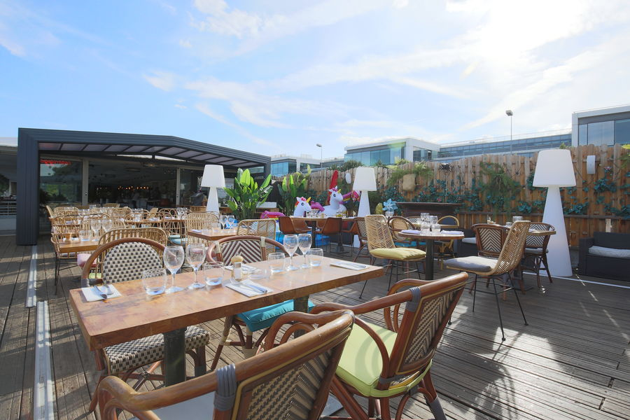 Aqua Restaurant Véranda (+ terrasse)