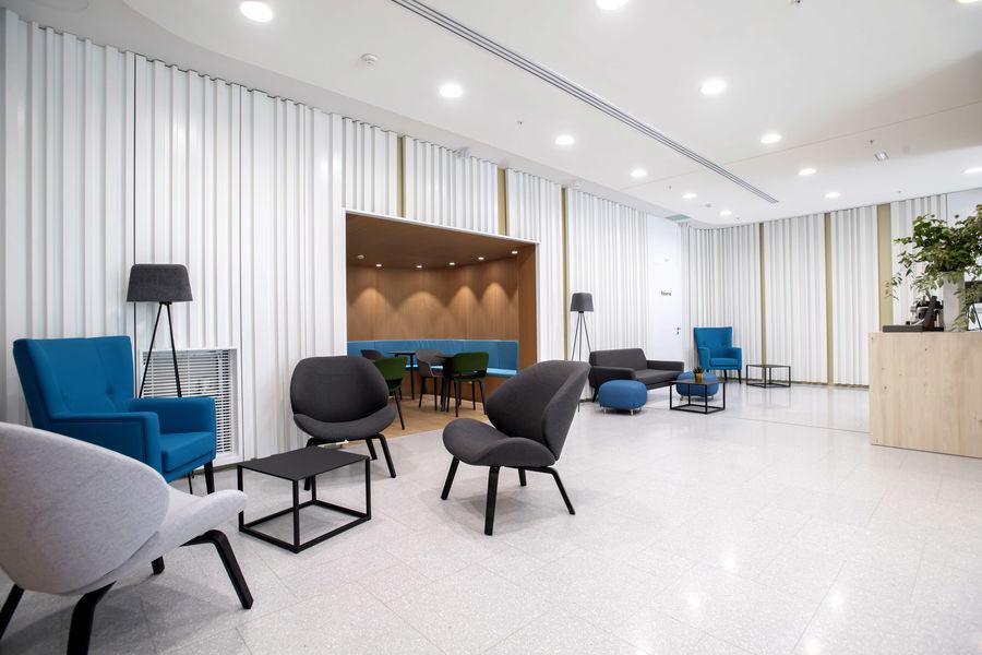 Kluster Business Center Accueil