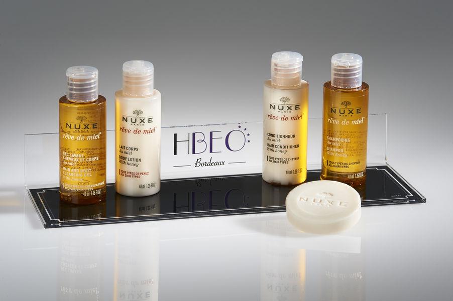 Best Western Premier Bordeaux - Hotel Bayonne Etche Ona  produits d'accueil Nuxe salle de bain