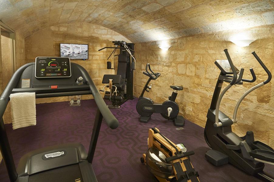 Best Western Premier Bordeaux - Hotel Bayonne Etche Ona  Salle de fitness